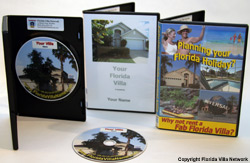 Manors at Westridge Picture2Movie showcase DVD for your Florida Rental Villa